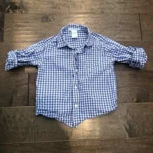 Janie & Jack button up collared shirt 18-24 mos.